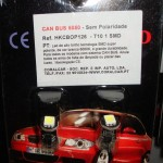 Can Bus Sem Polaridade T10 1 SMD 5050