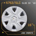 Tampão de roda CROMADO CLIO IV
