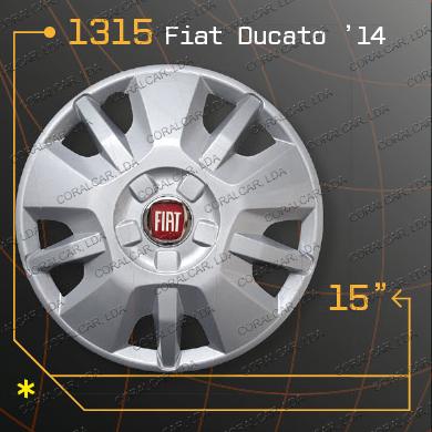 Tampões roda 1315 FIAT DUCATO 2014