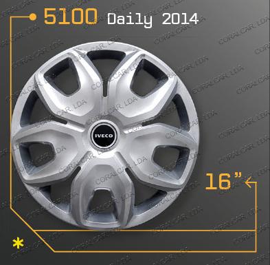 Tampões roda IVECO DAILY 2014