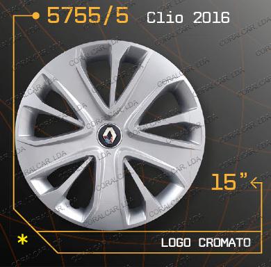 Tampões roda RENAULT CLIO 2016
