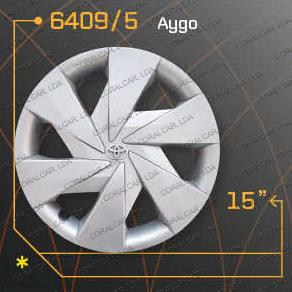 Tampões roda TOYOTA AYGO copy