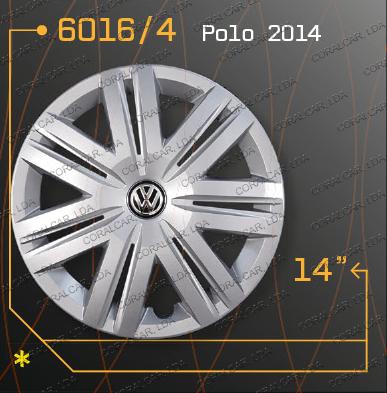 Tampões roda VW POLO 2014