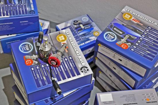 kit led h7 hp led novidade