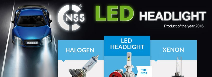 LED Headlight 5500k CanBus Serie S e HP